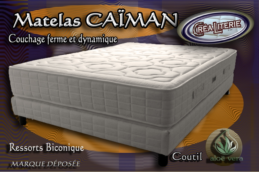 matelas ressort ca man promo 90x190 coutil alo v ra. Black Bedroom Furniture Sets. Home Design Ideas